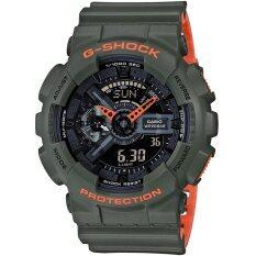 ขาย Casio G Shock นาฬิกาข้อมือรุ่น Ga 110Ln 3Adr ประกัน Cmg 1 ปี Casio G Shock ถูก