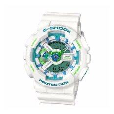 ขาย Casio G Shock Ga 110Wg 7A 12 24 Hour Format White Watch Intl Casio G Shock เป็นต้นฉบับ