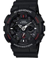 ราคา Casio G Shock นาฬิกาข้อมือผู้ชาย สายเรซิ่น รุ่น Ga 120 1Adr สีดำ Casio G Shock ไทย