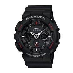 ราคา Casio G Shock นาฬิกาข้อมือ รุ่น Ga 120 1Adr Black ใหม่