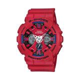 โปรโมชั่น Casio G Shock นาฬิกาข้อมือผู้ชาย รุ่น Ga 120Tr 4Adr สีแดง ใน Thailand