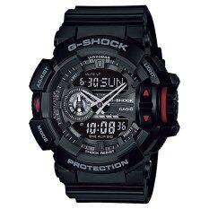 ราคา Casio G Shock นาฬิกาข้อมือผู้ชาย สีดำ สายเรซิ่น รุ่น Ga 400 1B ประกันCmg Casio G Shock เป็นต้นฉบับ