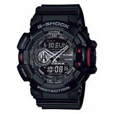 ราคา Casio G Shock นาฬิกาข้อมือผู้ชาย สายเรซิน รุ่น Ga 400 1Bdr Black Casio G Shock เป็นต้นฉบับ