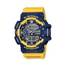 Casio G Shock นาฬิกาข้อมือผู้ชาย รุ่น Ga 400 9Bdr สีเหลือง น้ำเงิน ใน ไทย