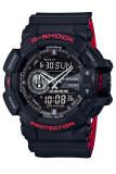 ราคา คาสิโอ G Shock Ga 400Hr 1 กันกระแทกนาฬิกาผู้ชายสีดำ Casio G Shock ฮ่องกง