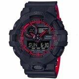 ซื้อ Casio G Shock นาฬิกาข้อมือผู้ชาย รุ่น Ga 700Se 1A4Dr Black Red Casio G Shock ถูก