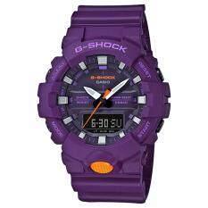 ราคา Casio G Shock นาฬิกาข้อมือผู้ชาย สายเรซิ่น รุ่น Ga 800Sc 6A ถูก