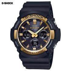 ซื้อ Casio G Shock นาฬิกาข้อมือผู้ชาย สายเรซิ่น รุ่น Gas 100G 1A ใน Thailand