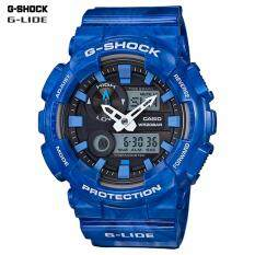 Casio G Shock นาฬิกาข้อมือผู้ชาย สายเรซิ่น รุ่น Gax 100Ma 2A Cmg ใหม่ล่าสุด