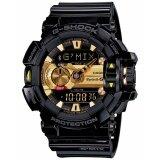 ซื้อ Casio G Shock นาฬิกาข้อมือเชื่อมต่อบลูทูธ รุ่น Gba 400 1A9Dr สีดำ ทอง Casio G Shock เป็นต้นฉบับ
