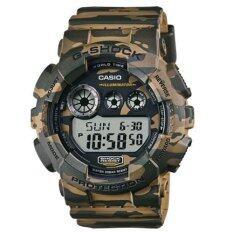 ขาย ซื้อ ออนไลน์ Casio G Shock นาฬิกาข้อมือผู้ชาย สีเขียว สายเรซิ่น รุ่นNgd 120Cm 5Dr
