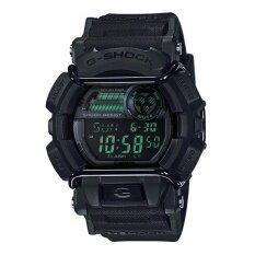 Casio G Shock นาฬิกาข้อมือชาย สายเรซิ่น รุ่น Gd 400Mb 1 สีดำ เป็นต้นฉบับ