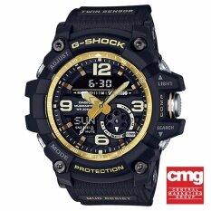 ขาย Casio G Shock นาฬิกาข้อมือผู้ชาย สายเรซิ่น รุ่น Gg 1000Gb 1Adr สีดำ ทอง ใหม่