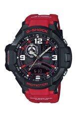 ขาย Casio G Shock Gravity นาฬิกาข้อมือผู้ชาย สายเรซิ่น รุ่น Ga 1000 4B สีแดง ออนไลน์ สงขลา