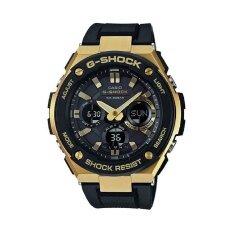 ขาย Casio G Shock นาฬิกาข้อมือผู้ชาย รุ่น Gst S100G 1Adr สีดำ ทอง ราคาถูกที่สุด