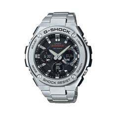 โปรโมชั่น Casio G Shock นาฬิกาข้อมือผู้ชาย รุ่น Gst S110D 1Adr Silver Casio G Shock