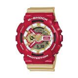 ราคา Casio G Shock นาฬิกาข้อมือ สายเรซิ่น รุ่น Ironman Ga 110Cs 4Adrn Red Gold ราคาถูกที่สุด