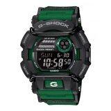 ทบทวน ที่สุด Casio G Shock คนสีเขียวยางรัดนาฬิกา Gd 400 แบบ 3