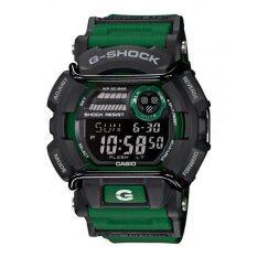 โปรโมชั่น Casio G Shock คนสีเขียวยางรัดนาฬิกา Gd 400 แบบ 3 Casio G Shock