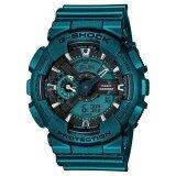 ราคา Casio G Shock Limited นาฬิกาข้อมือผู้ชาย สีเขียวเมทาลิค สายเรซิ่น รุ่น Ga 110Nm 3Adr กรุงเทพมหานคร