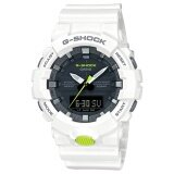 ซื้อ Casio G Shock Men S White Resin Strap Watch Ga 800Sc 7A