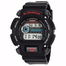 ขาย Casio G Shock Men S Black Resin Strap Watch Dw 9052 1V Intl ถูก ฮ่องกง