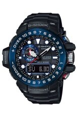 ราคา Casio G Shock Men S Black Resin Strap Watch Gwn 1000B 1B เป็นต้นฉบับ