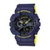 ซื้อ Casio นาฬิกาผู้ชาย G Shock สายหนังเรซินสีน้ำเงิน รุ่น Ga 110Ln 2A Casio G Shock เป็นต้นฉบับ