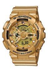 ขาย Casio G Shock Men S Gold Resin Strap Watch Ga 110Gd 9A ราคาถูกที่สุด