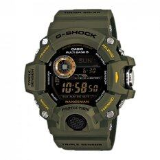 Casio G Shock Men S Green Resin Strap Watch Gw 9400 3 สมุทรปราการ