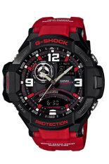 Casio G Shock Men S Red Resin Strap Watch Ga 1000 4B ฮ่องกง