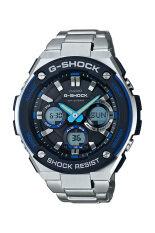 ราคา Casio G Shock Men S Silver Metal Strap Watch Gst S100D 1A2 ออนไลน์ สมุทรปราการ
