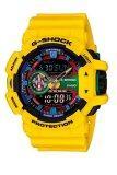Casio G Shock Men S Yellow Resin Strap Watch Ga 400 9A Casio G Shock ถูก ใน ฮ่องกง
