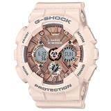 ซื้อ Casio G Shock Mini นาฬิกาข้อมือผู้หญิง สายเรซิ่น รุ่น Gmas120Mf 4A สีชมพู Casio G Shock