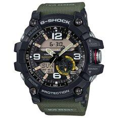 Casio G Shock Mudmaster นาฬิกาข้อมือผู้ชาย สายเรซิ่น รุ่น Gg 1000 1A3Dr ใหม่ล่าสุด