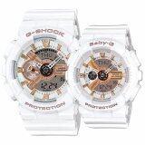 ราคา Casio G Shock นาฬิกาข้อมือ Lover S Collection สีขาว สายซิลิโคน รุ่น 2015 รุ่น Lov 15A 7Adr ใหม่