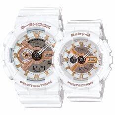 ราคา Casio G Shock นาฬิกาข้อมือ Lover S Collection สีขาว สายซิลิโคน รุ่น 2015 รุ่น Lov 15A 7Adr ถูก