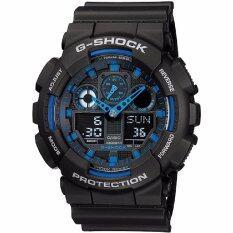 ราคา ราคาถูกที่สุด Casio G Shock นาฬิกาข้อมือผู้ชาย รุ่น Ga 100 1A2