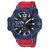 ซื้อ Casio G Shock นาฬิกาข้อมือผู้ชาย สายเรซิ่น รุ่น Ga 1100 2A สีน้ำเงิน แดง ออนไลน์ Thailand