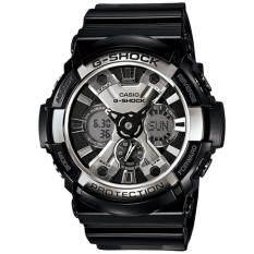 ซื้อ Casio G Shock นาฬิกาข้อมือผู้ชาย สายเรซิ่น รุ่น Ga 200Bw 1A สีดำ ใหม่ล่าสุด