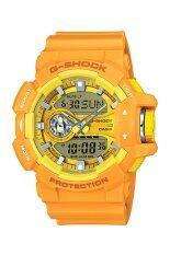 ขาย Casio G Shock นาฬิกาข้อมือผู้ชาย สายเรซิ่น รุ่น Ga 400A 9A Casio G Shock เป็นต้นฉบับ