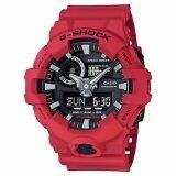 ราคา Casio G Shock นาฬิกาข้อมือผู้ชาย สายเรซิ่น รุ่น Ga 700 4A Casio G Shock ใหม่