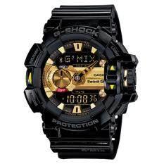 ส่วนลด Casio G Shock นาฬิกาข้อมือผู้ชาย สายเรซิ่น รุ่น G Mix Gba 400 1A9 สีดำ ทอง Casio G Shock กรุงเทพมหานคร