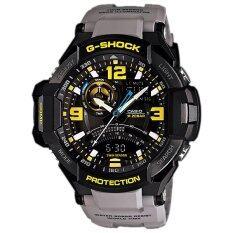 ขาย Casio G Shock นาฬิกาข้อมือผู้ชาย สายเรซิ่น สีเทาอ่อน รุ่น Ga 1000 8Adr เป็นต้นฉบับ