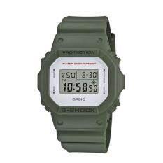 ขาย Casio G Shock นาฬิกาข้อมือผู้ชาย สีเขียว สายเรซิ่น รุ่น Dw 5600M 3