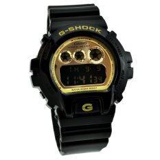 ส่วนลด Casio G Shock นาฬิกาข้อมือผู้ชายสายเรซิ่น รุ่น Dw 6900Cb 1Ds Black Casio G Shock บุรีรัมย์