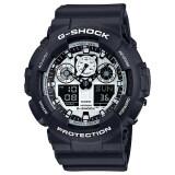 ซื้อ Casio G Shock นาฬิกาข้อมือ รุ่น Ga 100Bw 1A Casio G Shock เป็นต้นฉบับ