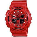 ขาย Casio G Shock นาฬิกาข้อมือ รุ่น Ga 100C 4 สีแดง Casio G Shock เป็นต้นฉบับ