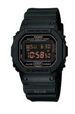 โปรโมชั่น Casio นาฬิกาข้อมือ G Shock Limited รุ่น Dw 5600Ms 1 Black ใน สงขลา