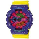 ขาย Casio G Shock นาฬิกาข้อมือ สีม่วง เหลือง สายเรซิน รุ่น Ga 110Hc 6A ใน เชียงใหม่